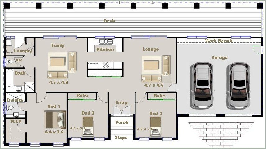 4 Bedroom House Design Bedroom House Design Small Plans on Sich