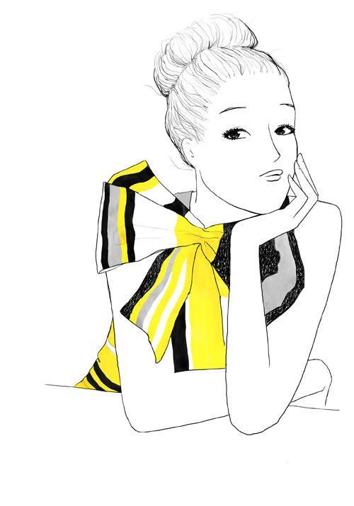 cheveux longs, idées courtes Fashion art, Fashion