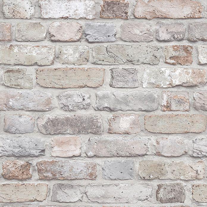 Papel Pintado Ladrillo Gris Efecto Piedra 10 05 X 0 53 M Ladrillos Pintados Paredes De Ladrillo Blanco Paredes De Ladrillo Pintadas