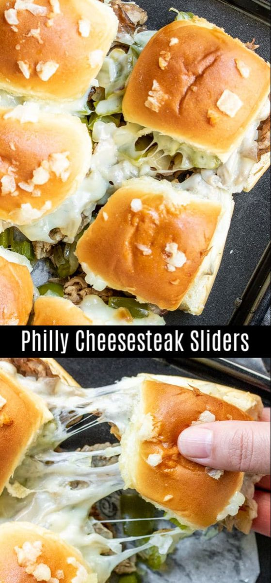 Philly Cheesesteak Sliders | Home. Made. Interest.