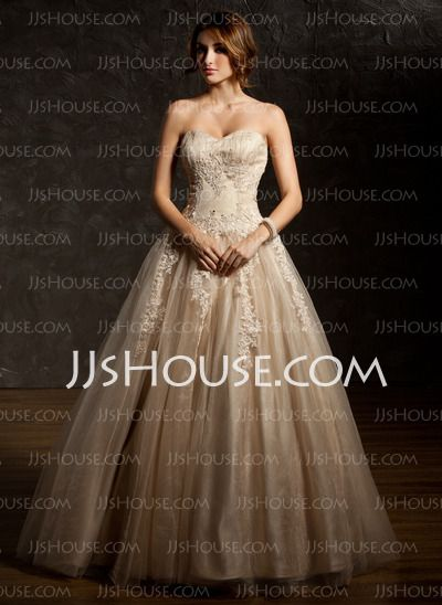 91923c3b7a8  186.99 - Ball-Gown Sweetheart Floor-Length Satin Tulle Quinceanera Dress  With Ruffle Lace Beading Sequins Want this in either champagne or red. LOVE  the ...