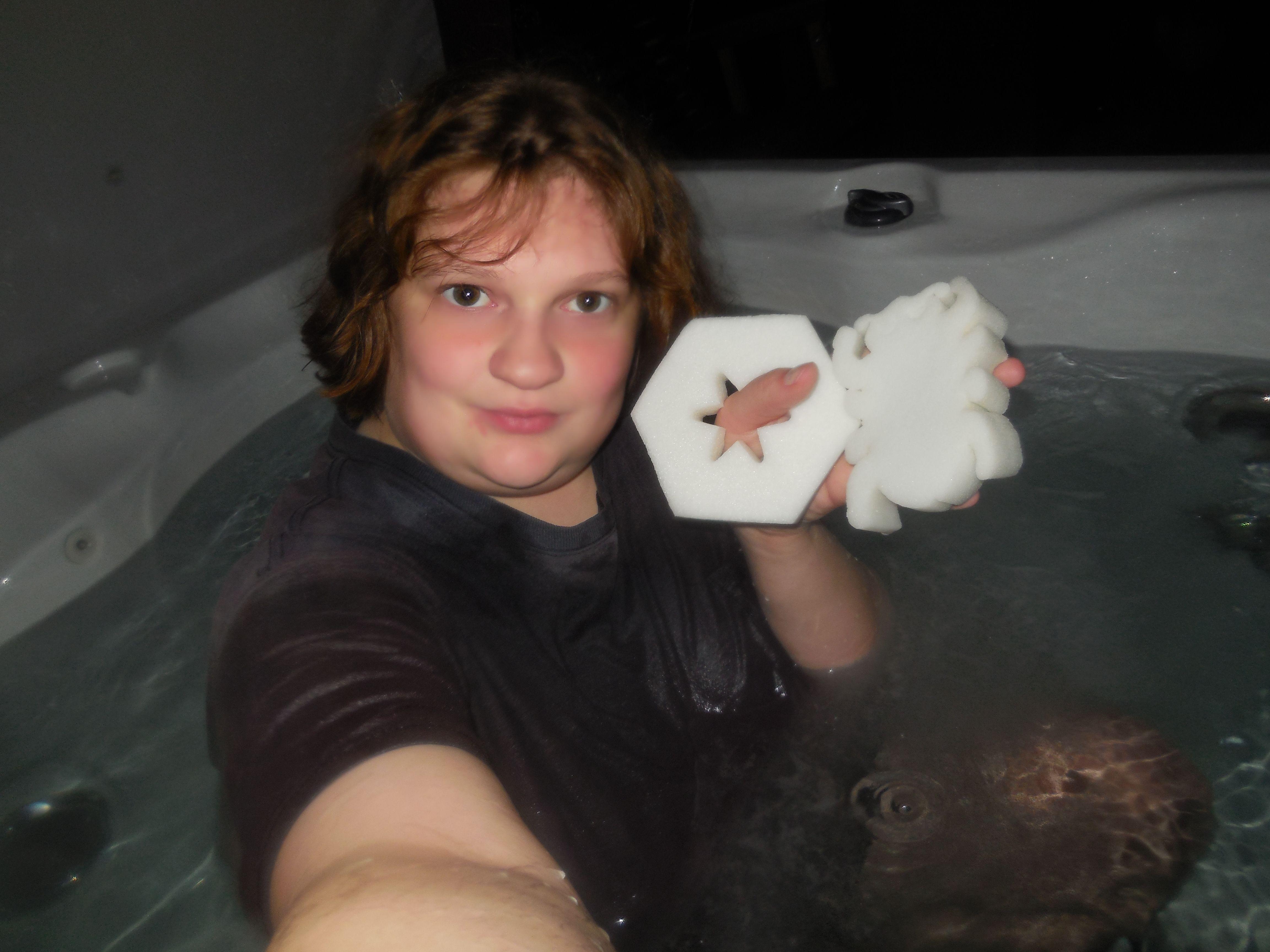 Hot teen tub, fake kiki nude