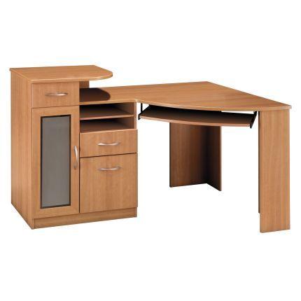 Bush Furniture Corner Desk Corner Desk Computer Desk Solid Wood Wooden Computer Desks