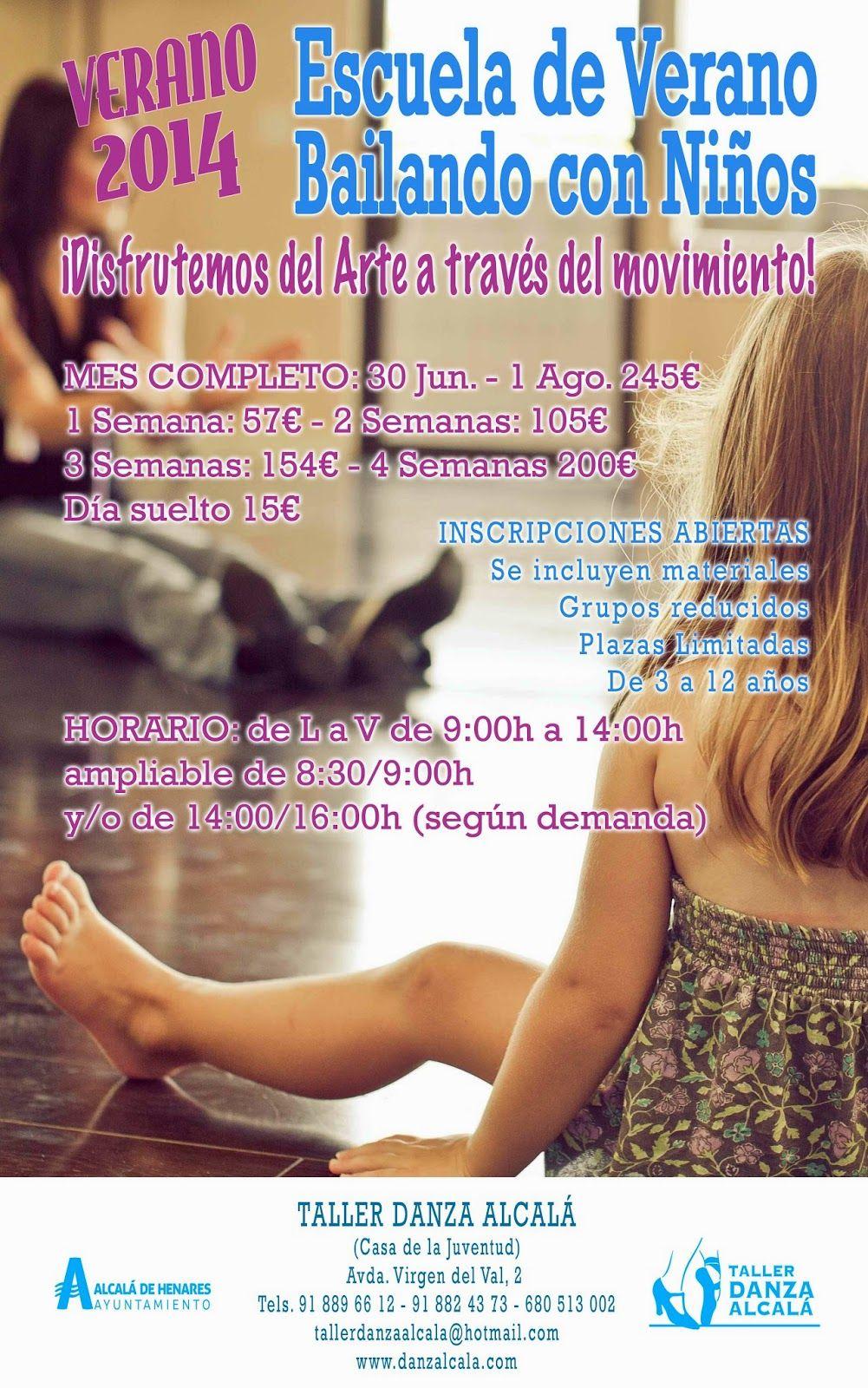 Cidaj Escuela De Verano Del Taller De Danza Para Niños Y Niñas Escuela De Verano Escuela Danza