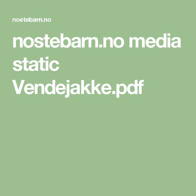 nostebarn.no media static Vendejakke.pdf