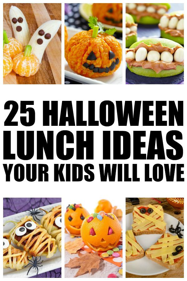 25 Halloween lunch ideas for kids Kids class, Awesome mom and