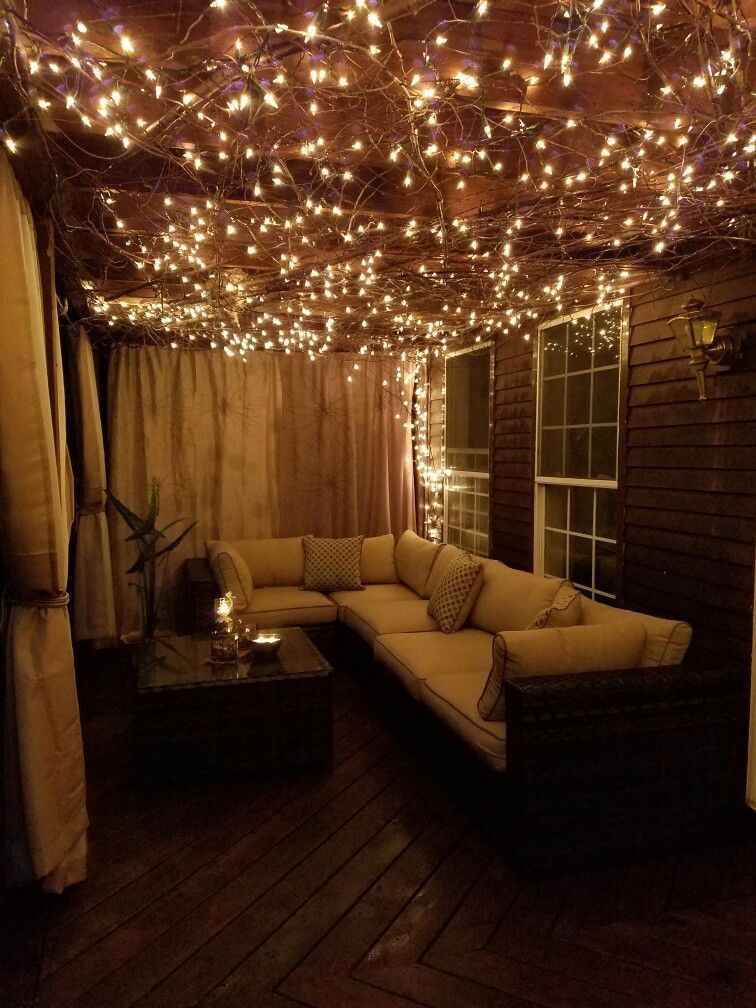 Lights on the patio city apartment decor balcony decorating balconies tumblr also design in rh pinterest