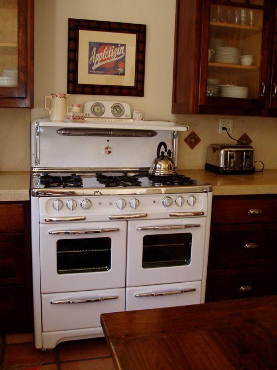 1950s Wedgewood 6 Burner Double Oven | Restored vintage gas ranges ...