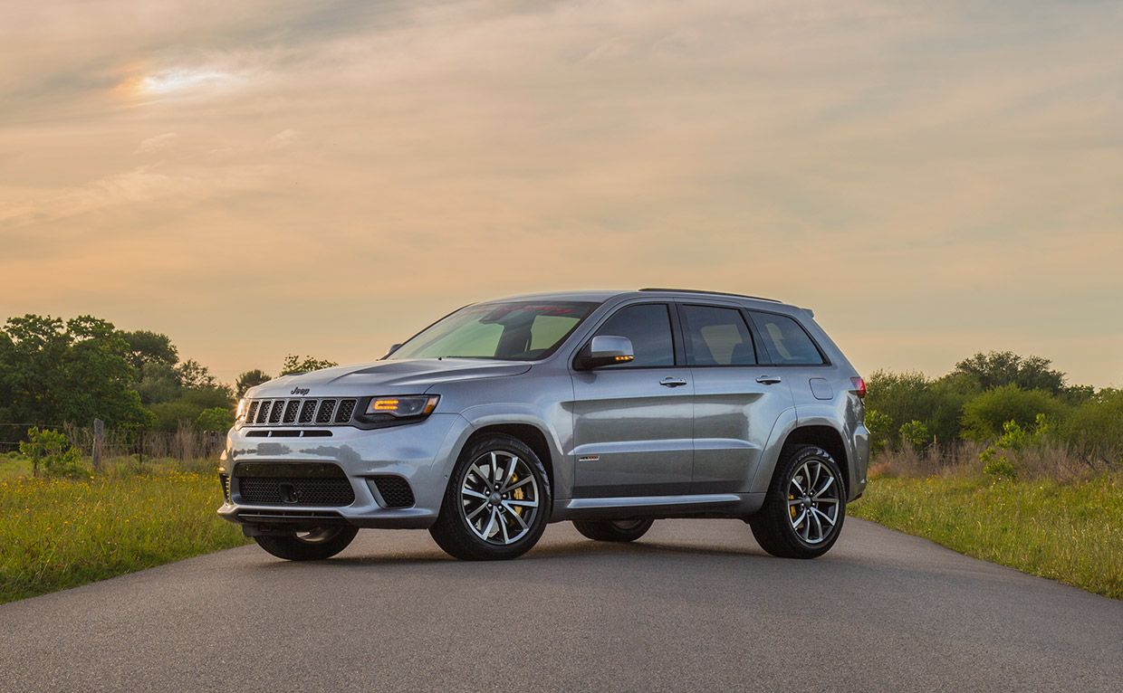 Hennessey Jeep Grand Cherokee Trackhawk Does 1 4 Mile In The 9s Jeep
