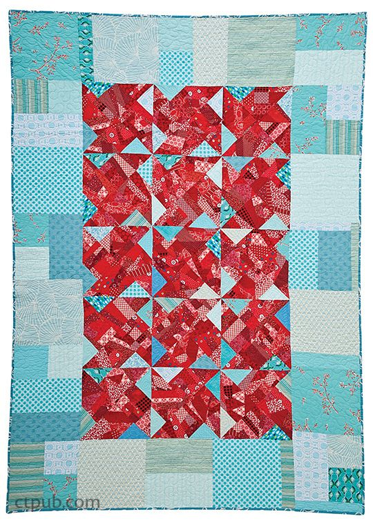 15 Minutes of Play Improvisational Quilts is part of Quilts, Modern quilts, Quilt piecing, Scrap quilts, Quilt inspiration, Contemporary quilts - Create a unique piece of  madefabric  in just 15 minutes with improvisational scrappiecing methods