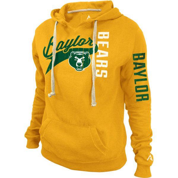 baylor university hooded sweatshirt