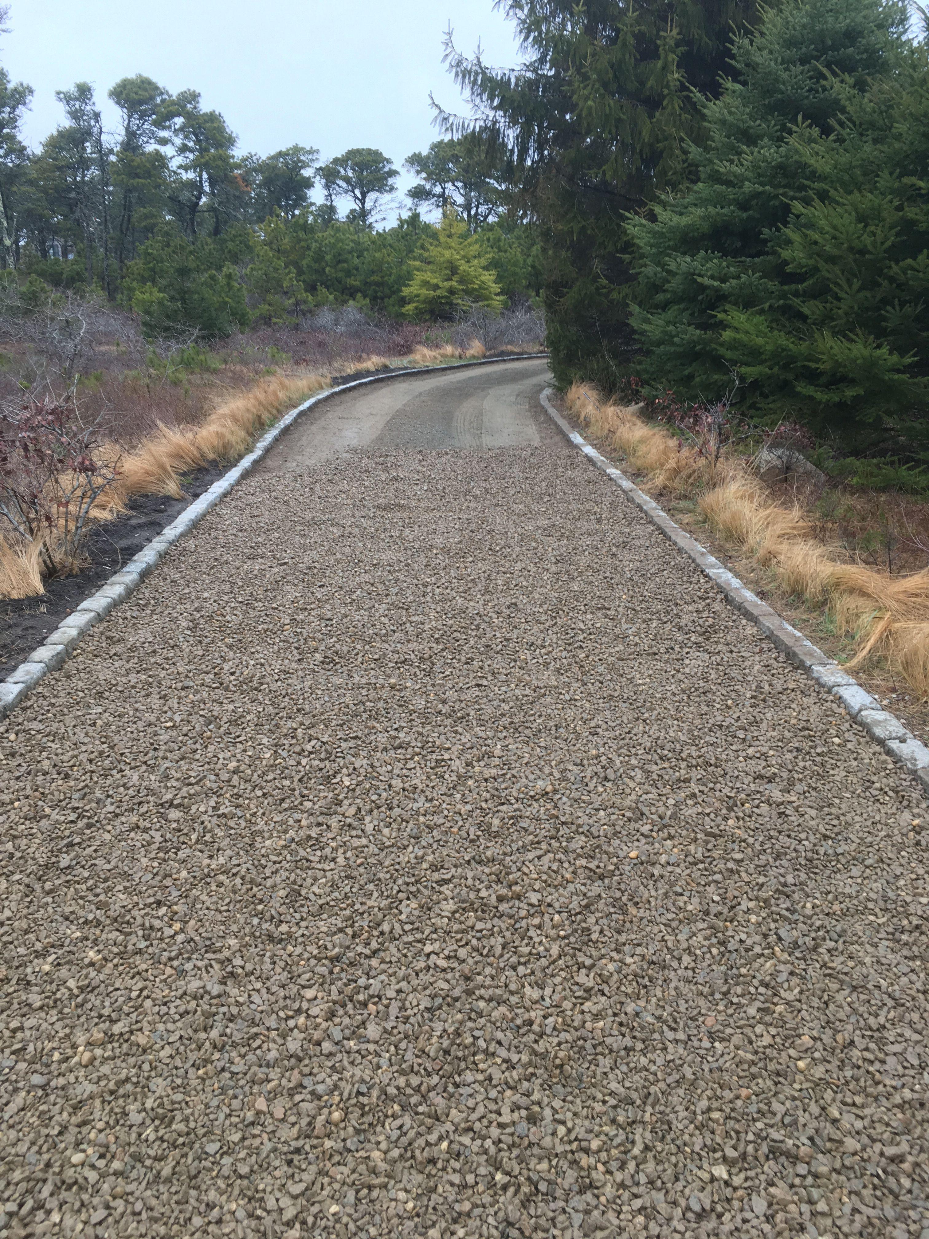 Belgium Block Driveway Edging Nantucket Driveway Edging Stone Driveway Driveway Design