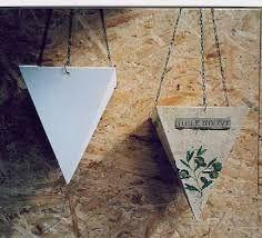 Keramikpflanzpyramide mit Serviettentechnik