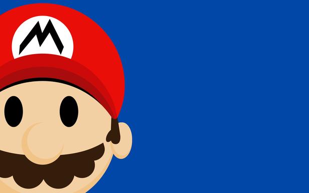 Its A Me By Justin Page Simple Desktops Mario Super Mario Fun Illustration