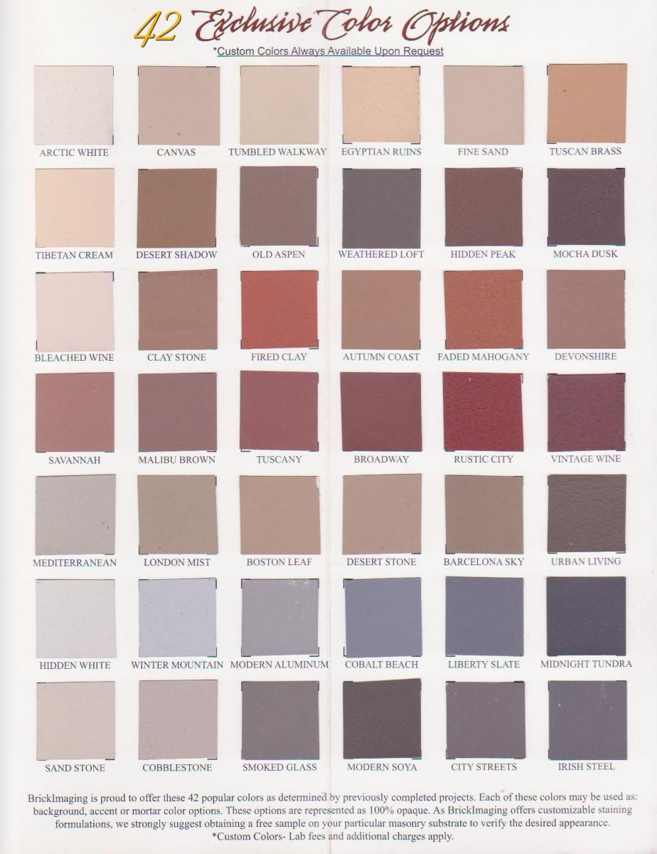 Ugly brick stain it using stayncolor brickimaging diy home our brick staining color chart can help you decide how you want your home or building to look call now for any questions on color geenschuldenfo Choice Image