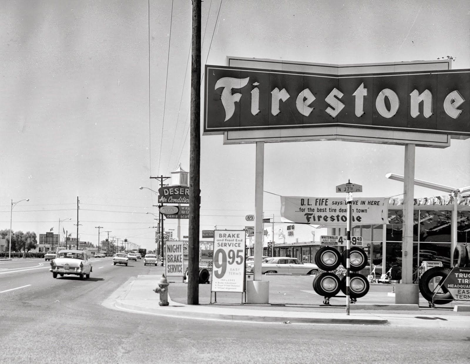 37th Street and Thomas Rd Phoenix, AZ Firestone tires