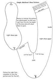 Image result for lasso slippers template