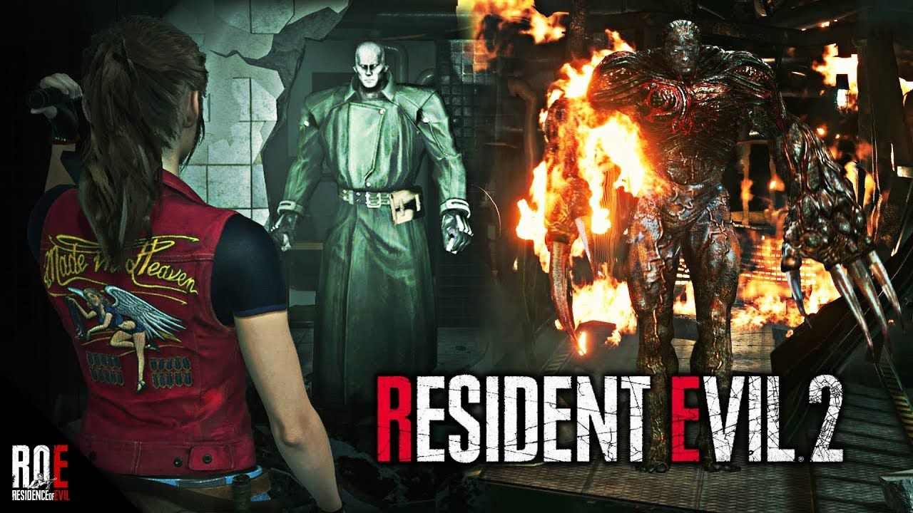 Resident Evil 2 Remake Darkside Chronicles Mr X Claire