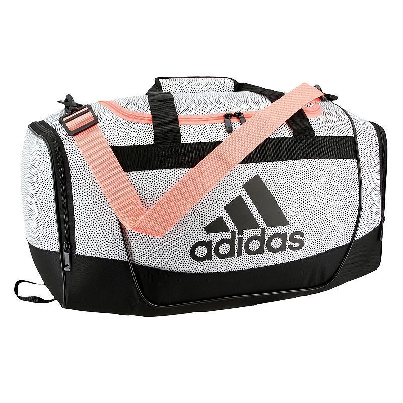 Adidas Defender II Small Duffel Bag, White   Products   Pinterest ... 2cbbb02a8e