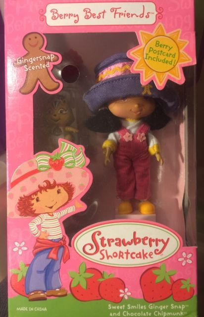 Strawberry Shortcake Berry Best Friends Sweet Smiles Ginger Snap