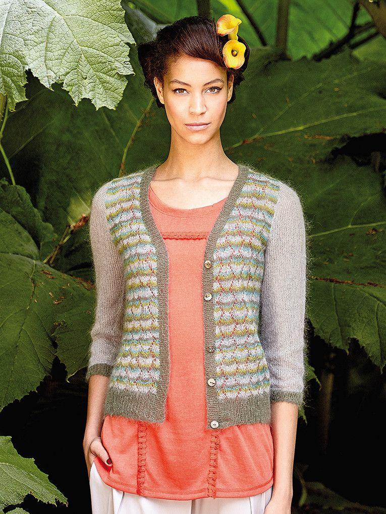 Rowan Magazine Issue 59 - Osaka in Kidsilk Haze at Spun Yarn Shop ...