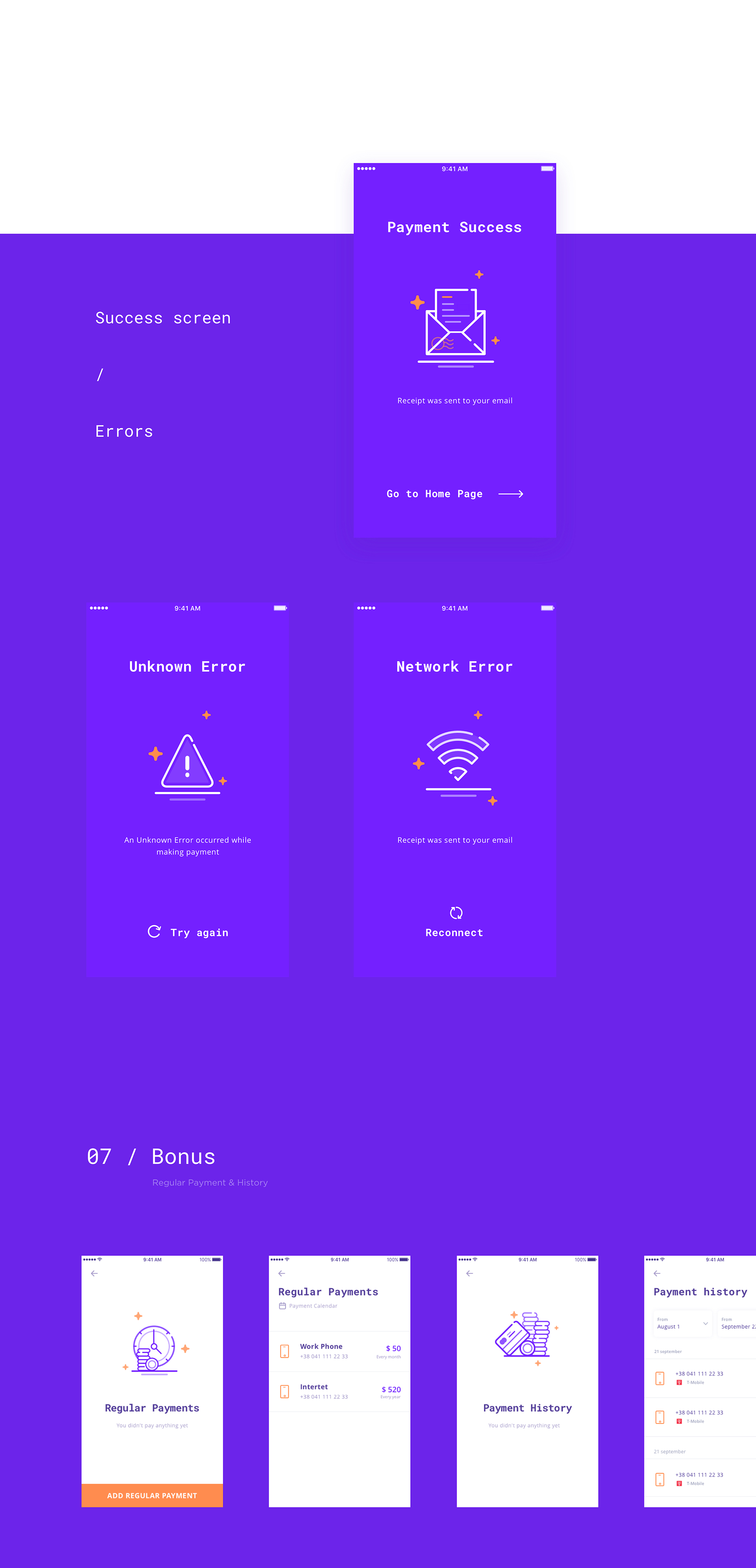 Aleksey Stiques on Behance App, Wallet, Mobile app