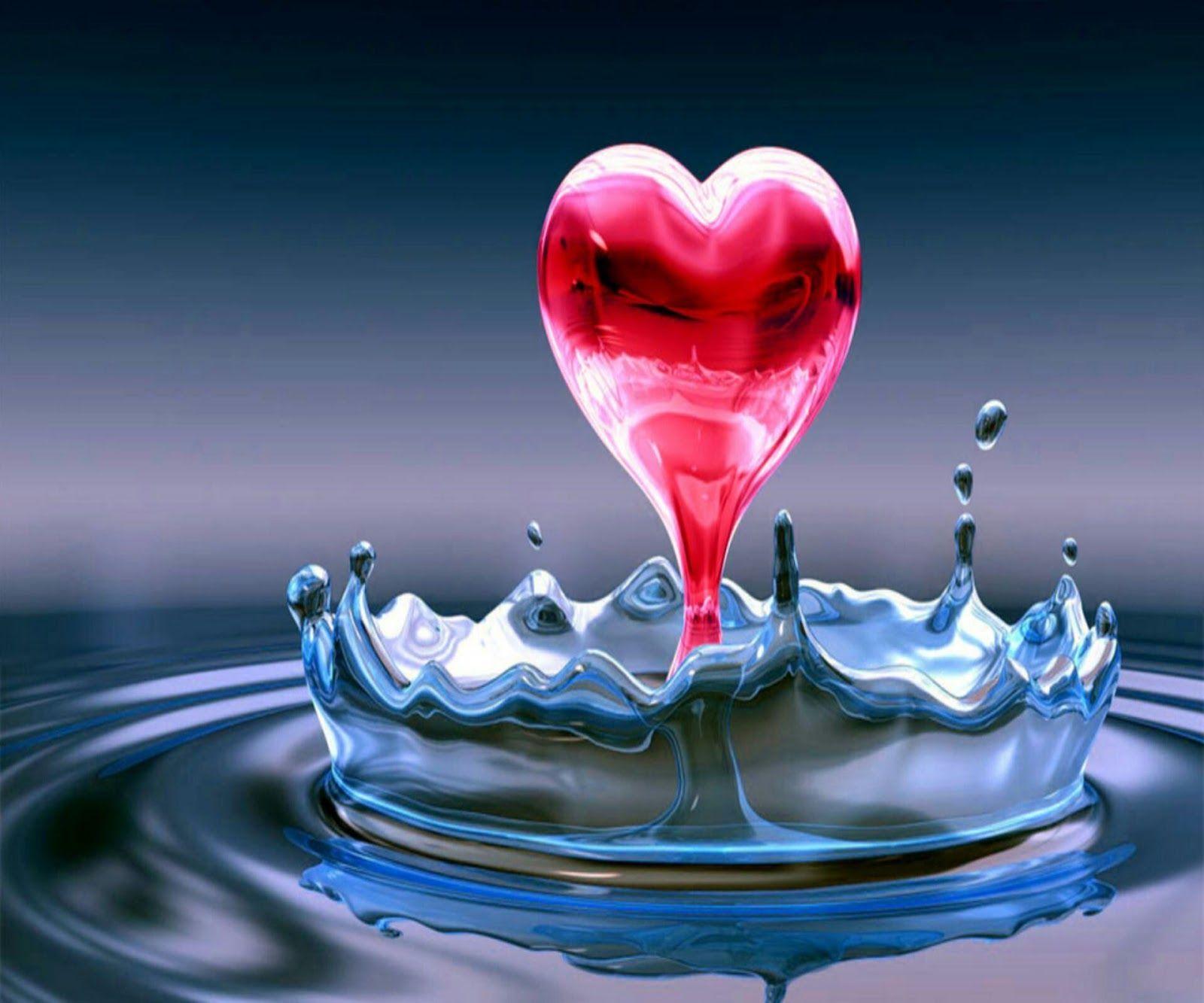 Wallpapers Samsung Galaxy Tab 10 1 Water Heart Wallpaper Love Quotes Wallpaper Love Wallpaper
