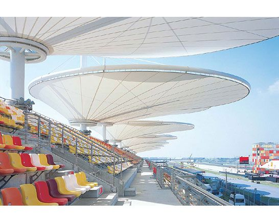 TI Tensile Structures Manufacturers world-class Tensile ...