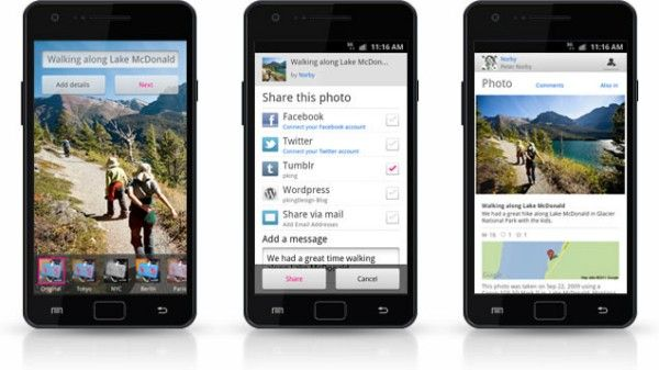 Flickr unveils Android app, introduces realtime Photo
