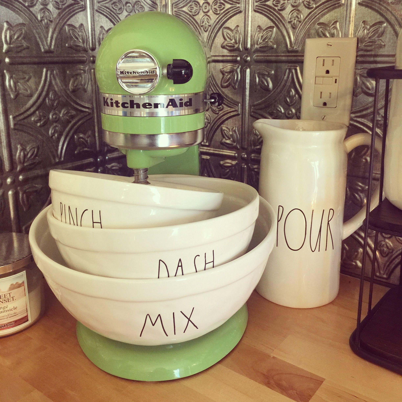 kitchen aid bowls pan set rae dunn mixing and kitchenaid mixer i ll never be