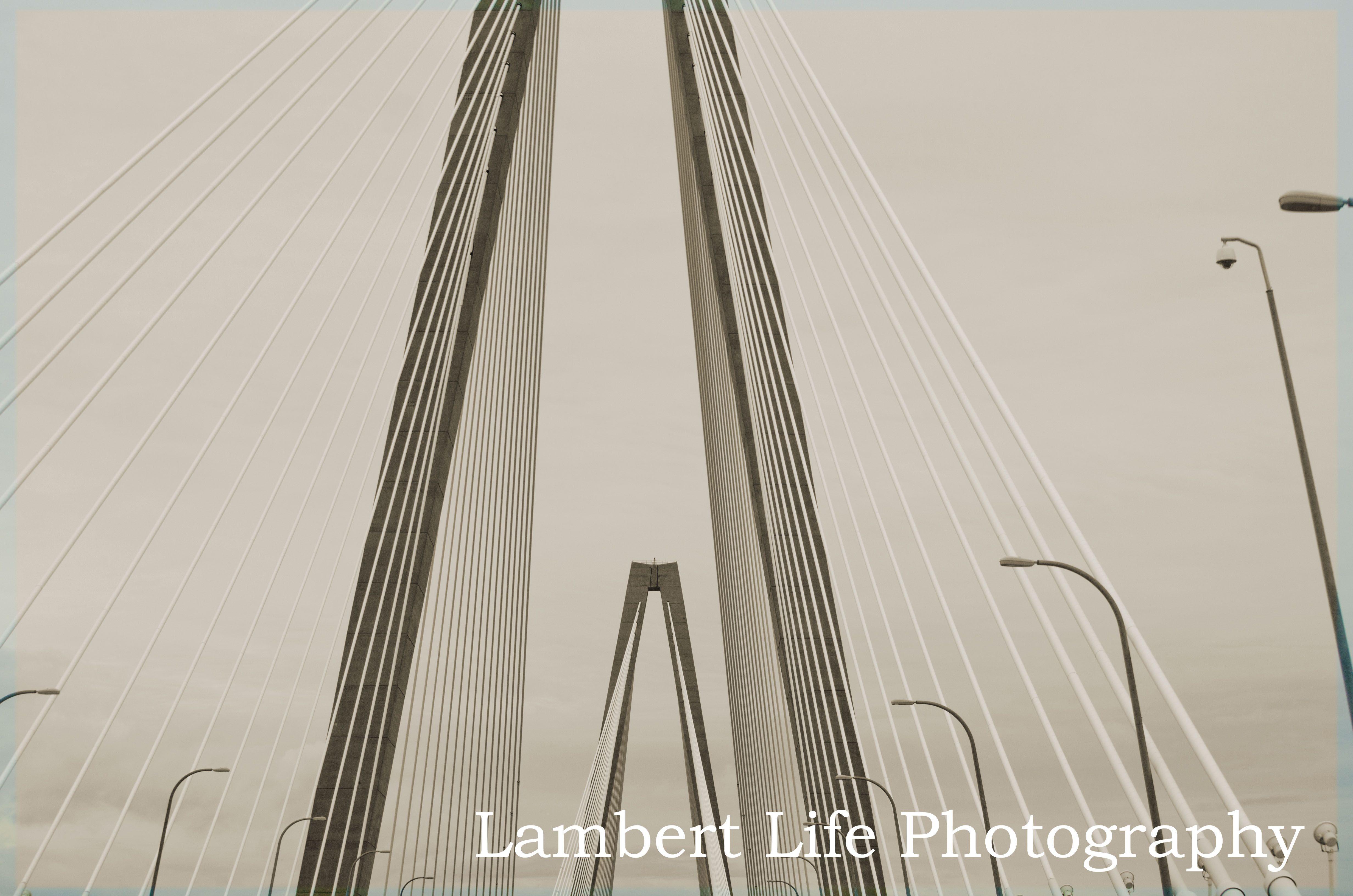 Ravenel Bridge, Charleston, SC - {copyright Lambert Life Photography}