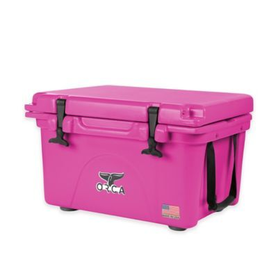 Orca Ice Retention Cooler In Pink Bed Bath Beyond Cooler Pink Office Supplies Pink Cooler