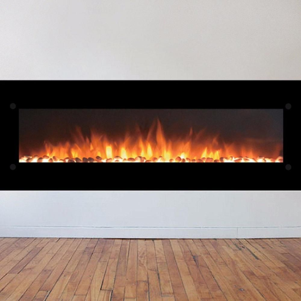 Touchstone Onyx Xl 72 Wall Mounted Electric Fireplace 80005 Wall Mount Electric Fireplace Electric Fireplace Fireplace