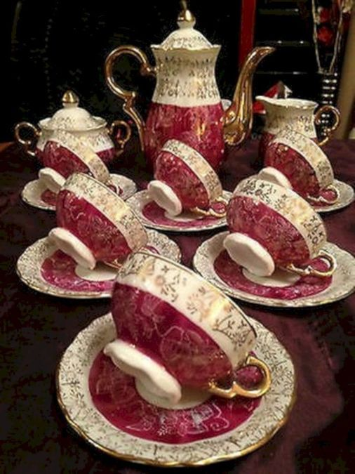 Best Tea Sets That Need to be in Your Living Room 35 #teasets