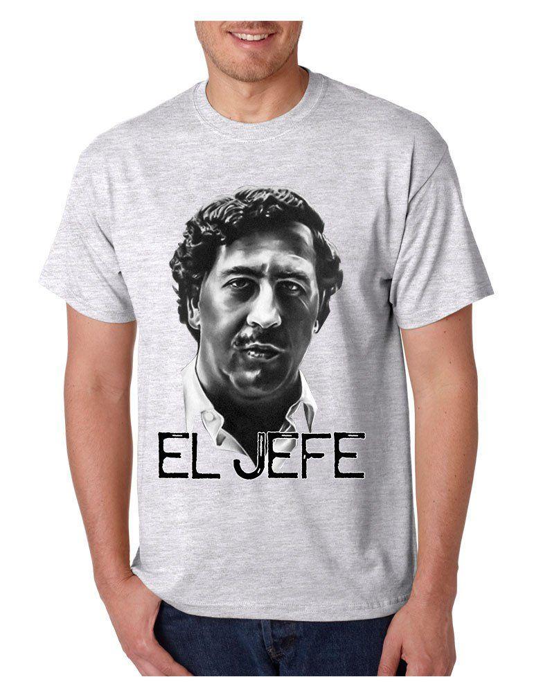 2fb3a477c Men's T Shirt Pablo Escobar Face Cool Stuff Popular T Shirt #tshirt #tvshow  #tvseries #narcos #gift