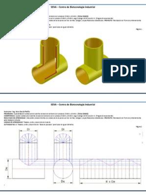 Intersecciones Y Desarrollos Trazados De Caldereria Pdf Calderería Caldereria Audiolibros