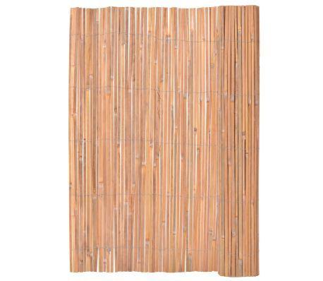 Bambuszaun 200×400 cm Cloture bambou, Cloture bois