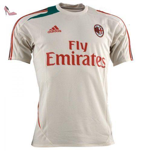 2012 13 AC Milan Adidas F50 Training Jersey (White