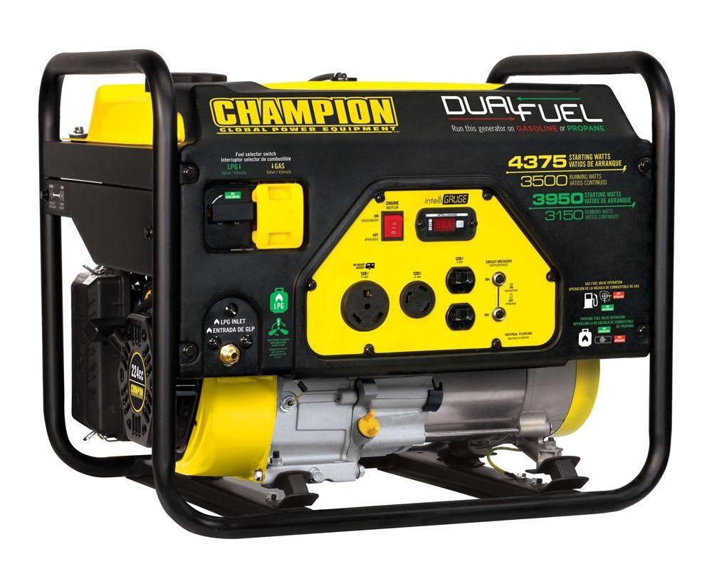 Top 10 Portable Generators on the Market Dual fuel
