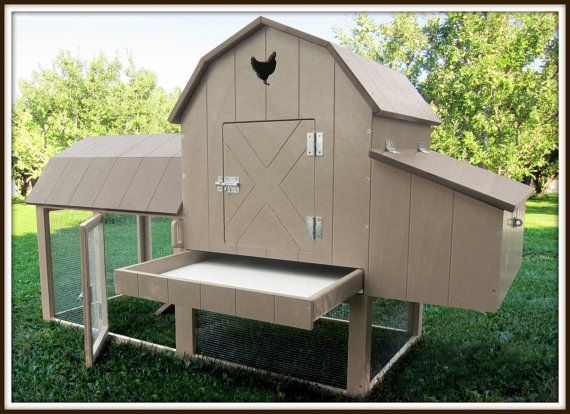 Chicken Coop Kit Easy To Assemble By RoaringKids On Etsy, $299.00