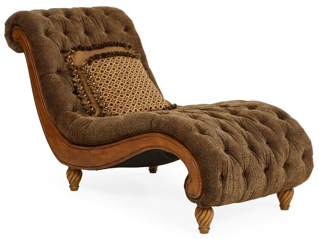 The Dinah Tufted Chaise...  Comes in a Cheshire Tonga cheetah-inspired chenille fabric that is tufted all over. It has a delicately curved wood base and ...  sc 1 st  Pinterest : cheetah chaise - Sectionals, Sofas & Couches