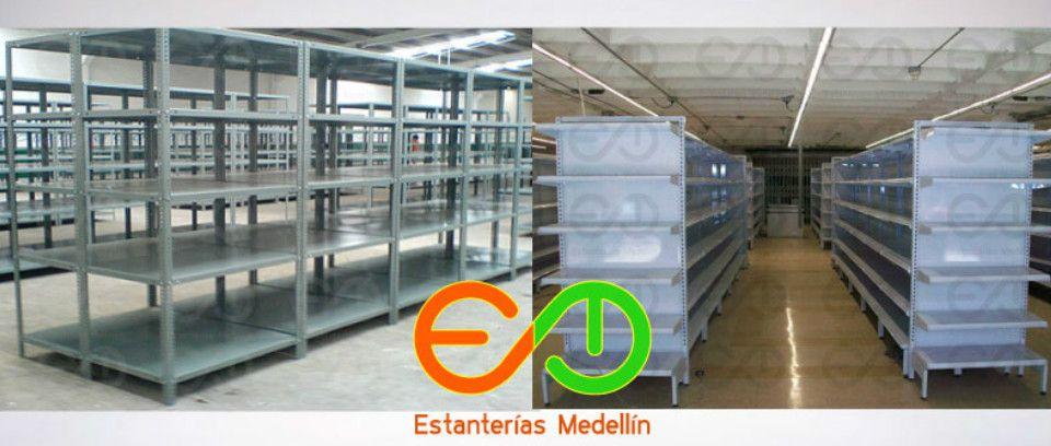 Góndolas y estanterias para supermercados