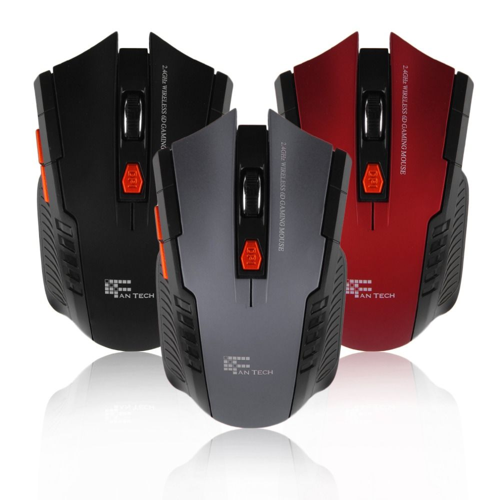 New Portable Mini Mouse Wireless 3D Roller 6D Optical 2400DPI Gaming ...