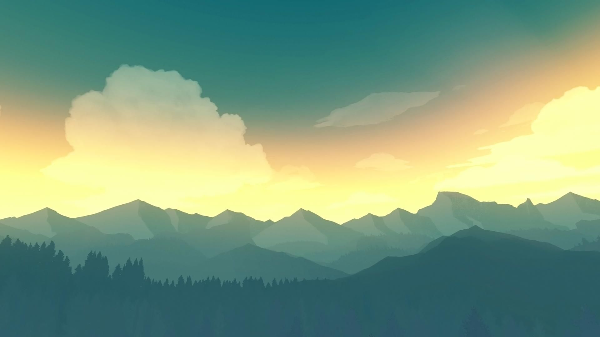 best background wallpapers reddit: Firewatch Is A Beautiful Game