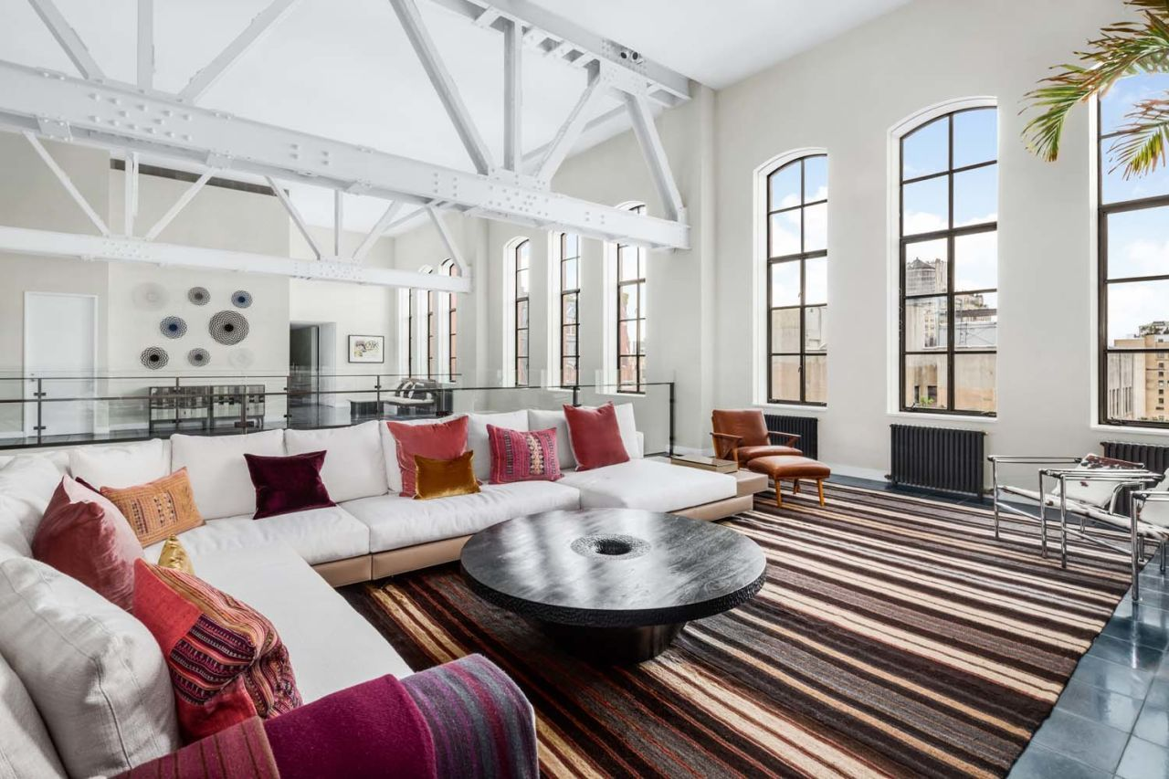 This incredible new york loft used to be the iconic ymca lofts