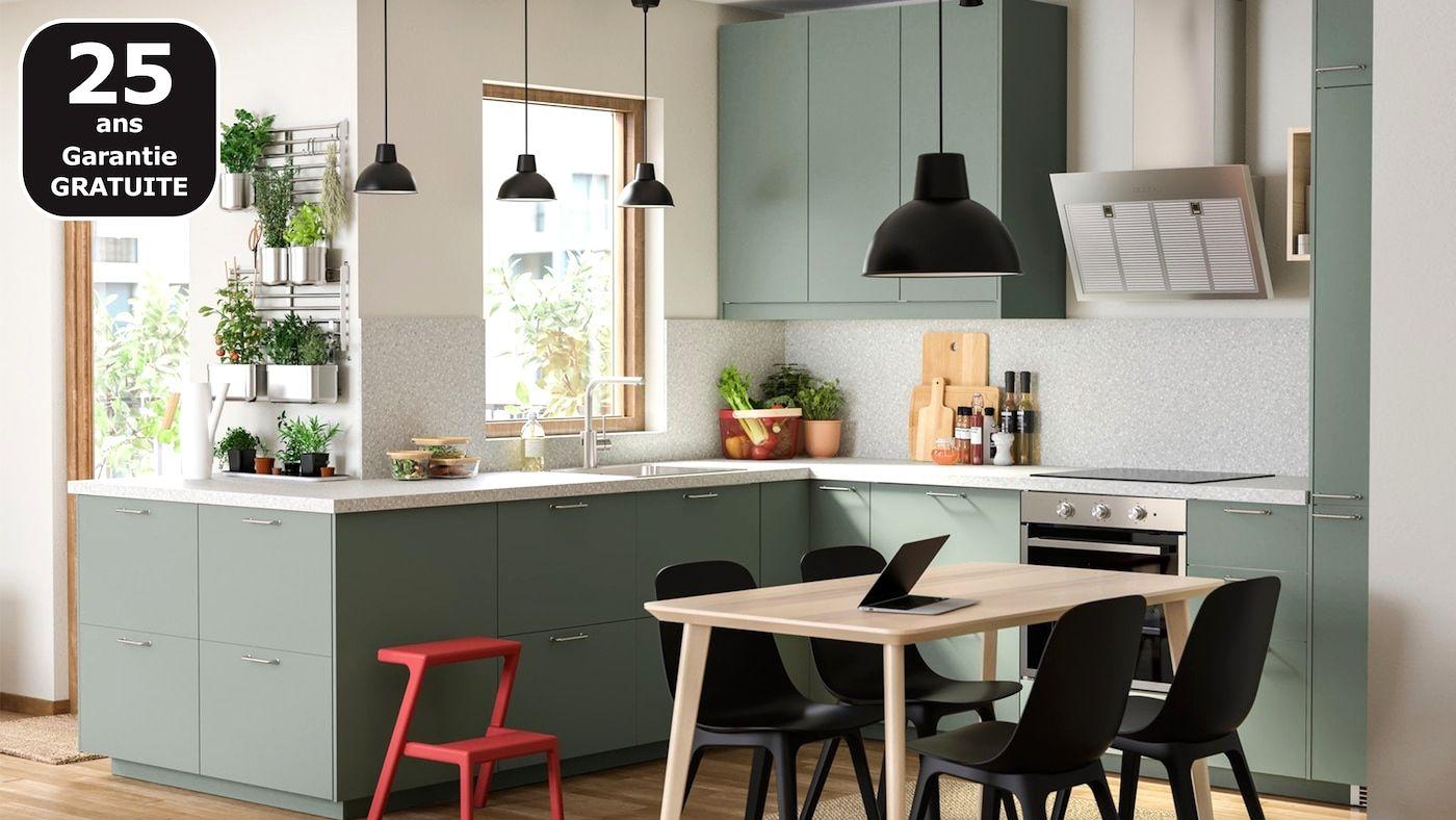 Ikea Cuisine Complete Trick Di 2020 Ikea Dapur Peralatan Dapur