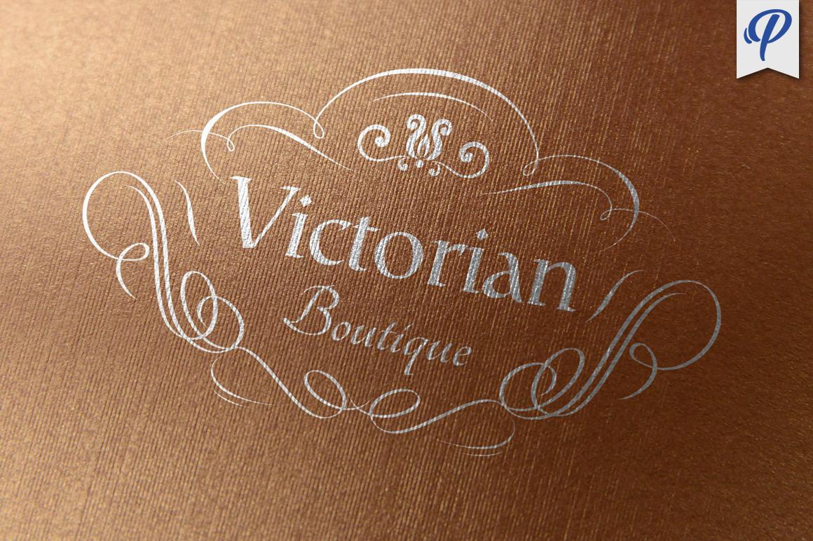 Victorian Boutique Logo Template