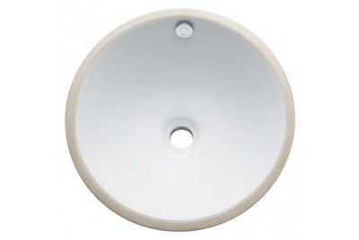 Fauceture Lbr17176 Vitreous China Courtyard Round Undermount