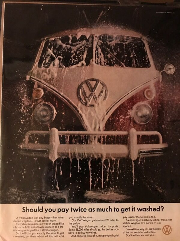34a4b9434a Vintage Volkswagen Ad for Sale in Vernon Hills