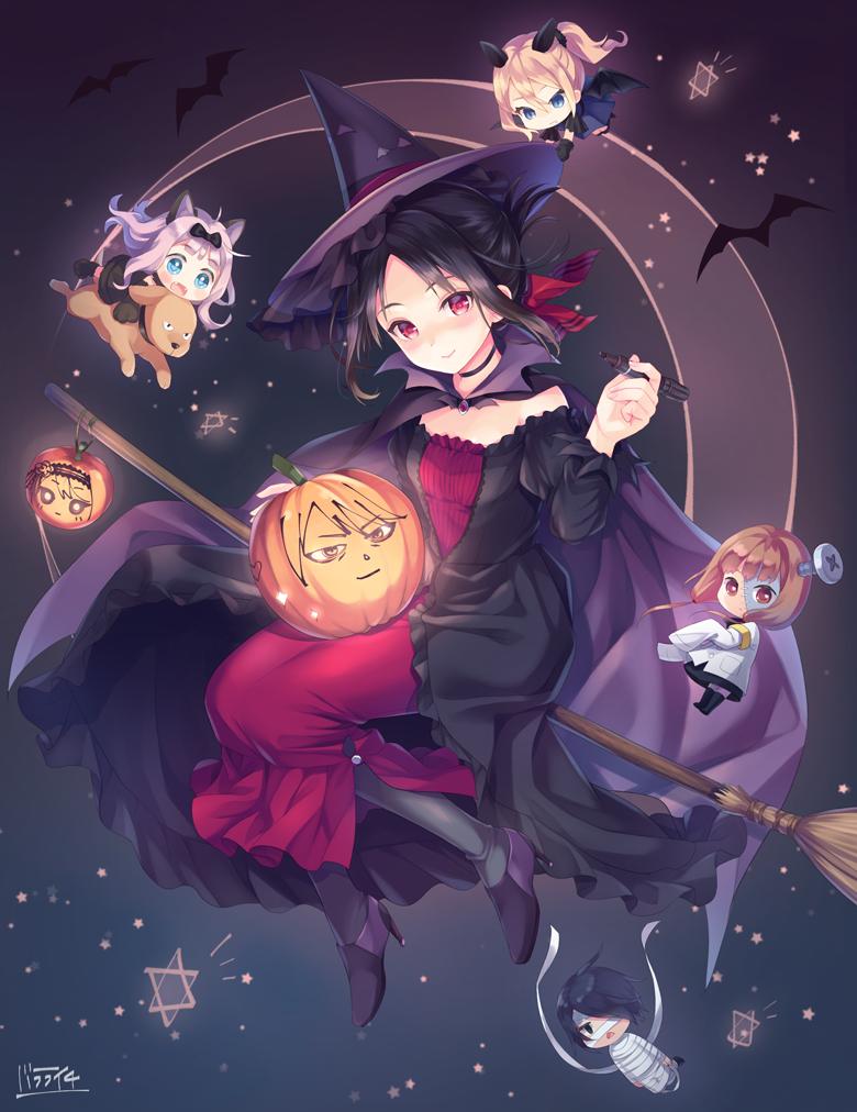 Happy Halloween KaguyaSama Love is War Anime